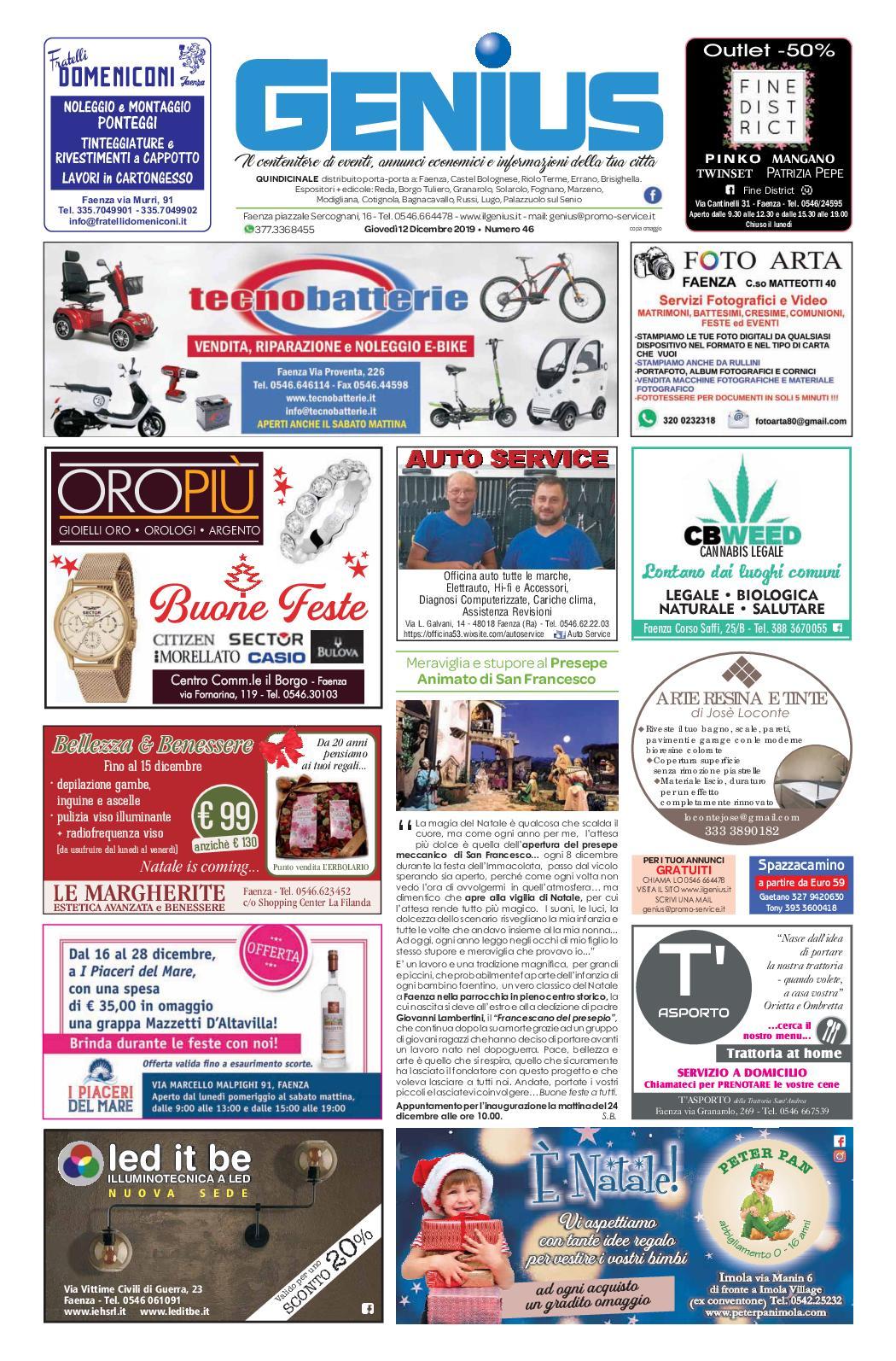 Rete Per Gatti Condominio calaméo - num 46 del 12 dicembre 2019