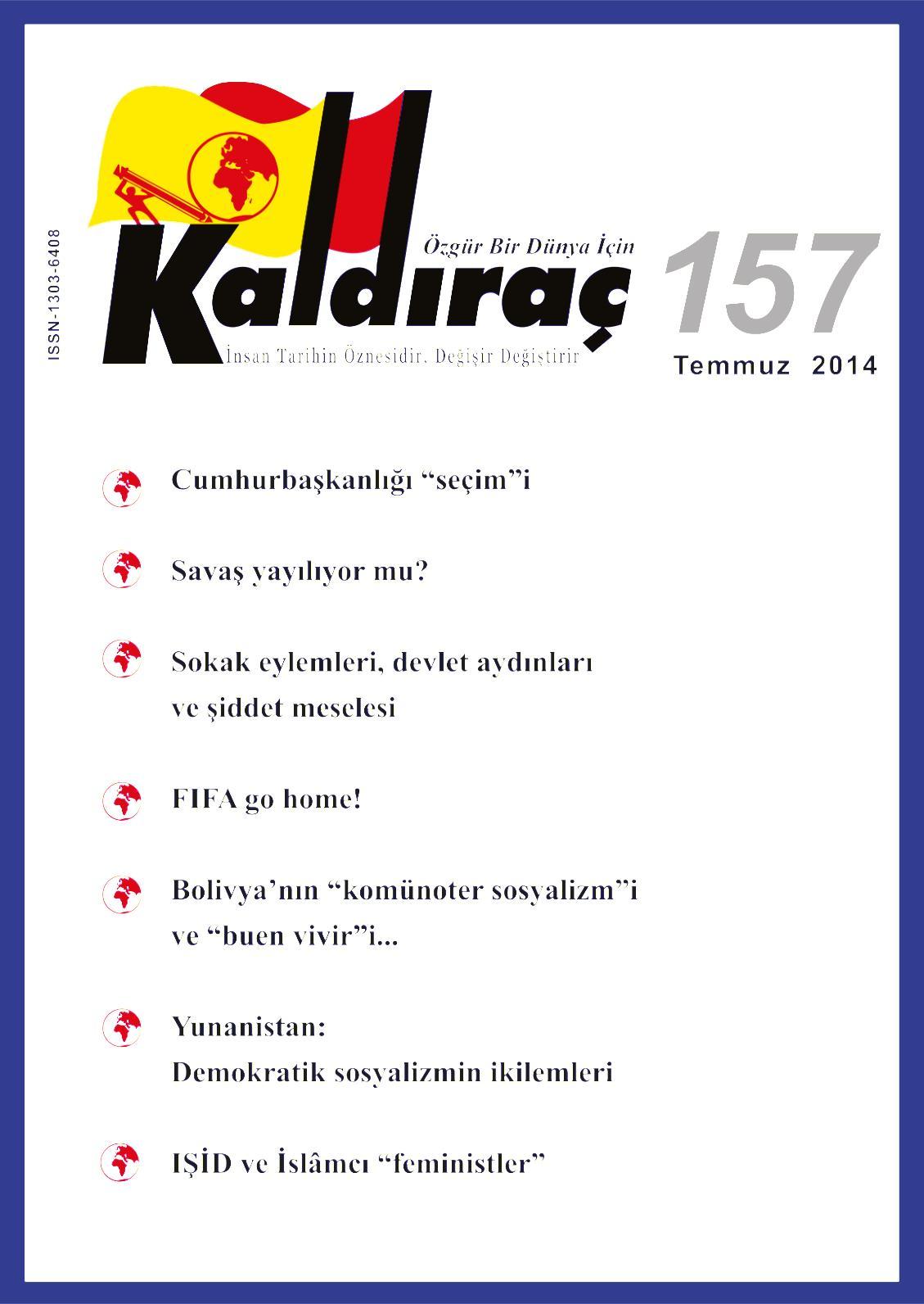 Calameo Kaldirac 157 Sayi Temmuz 2014