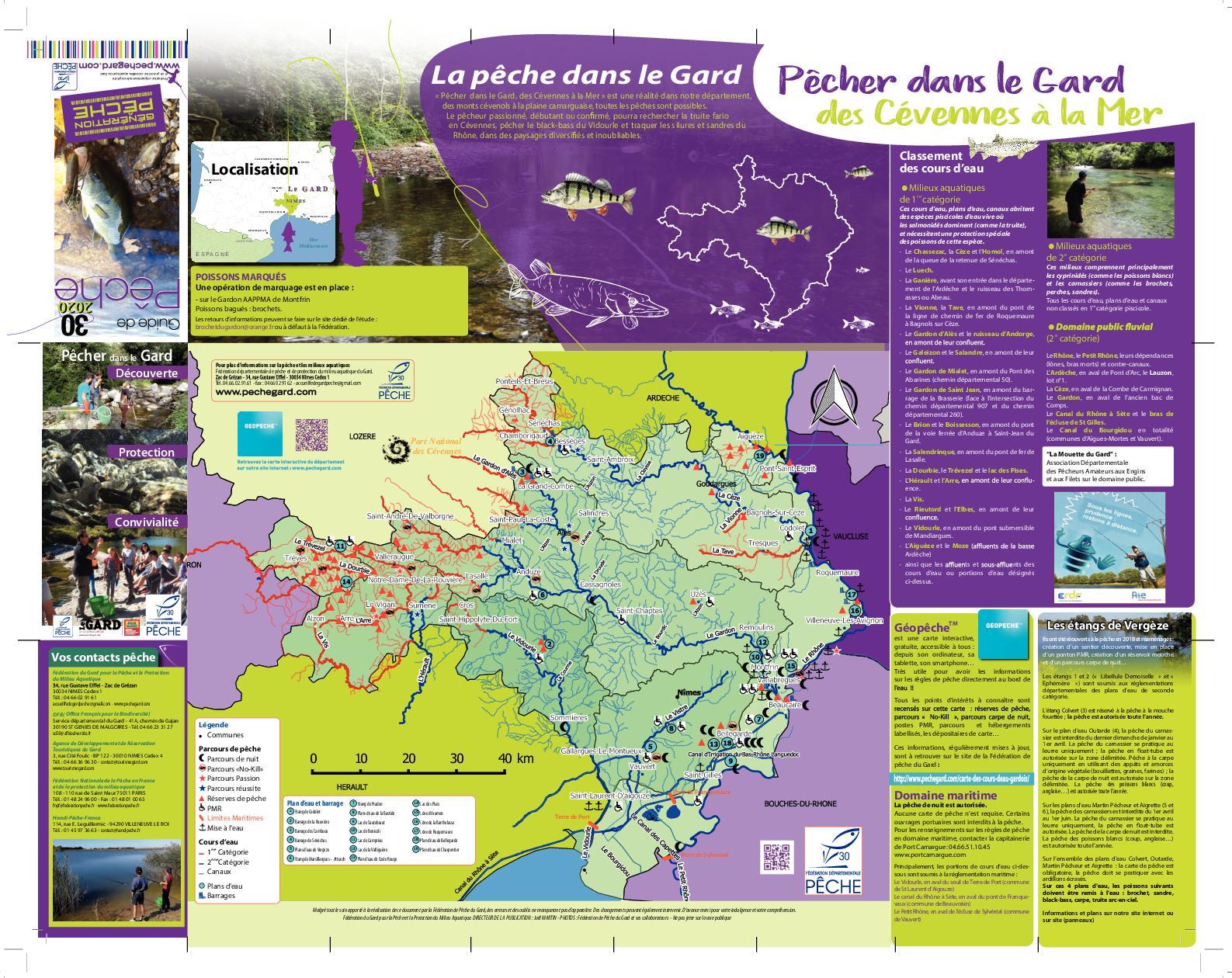 Chemin Des Canaux 30230 Bouillargues calaméo - dépliant réglementaire gard 2020