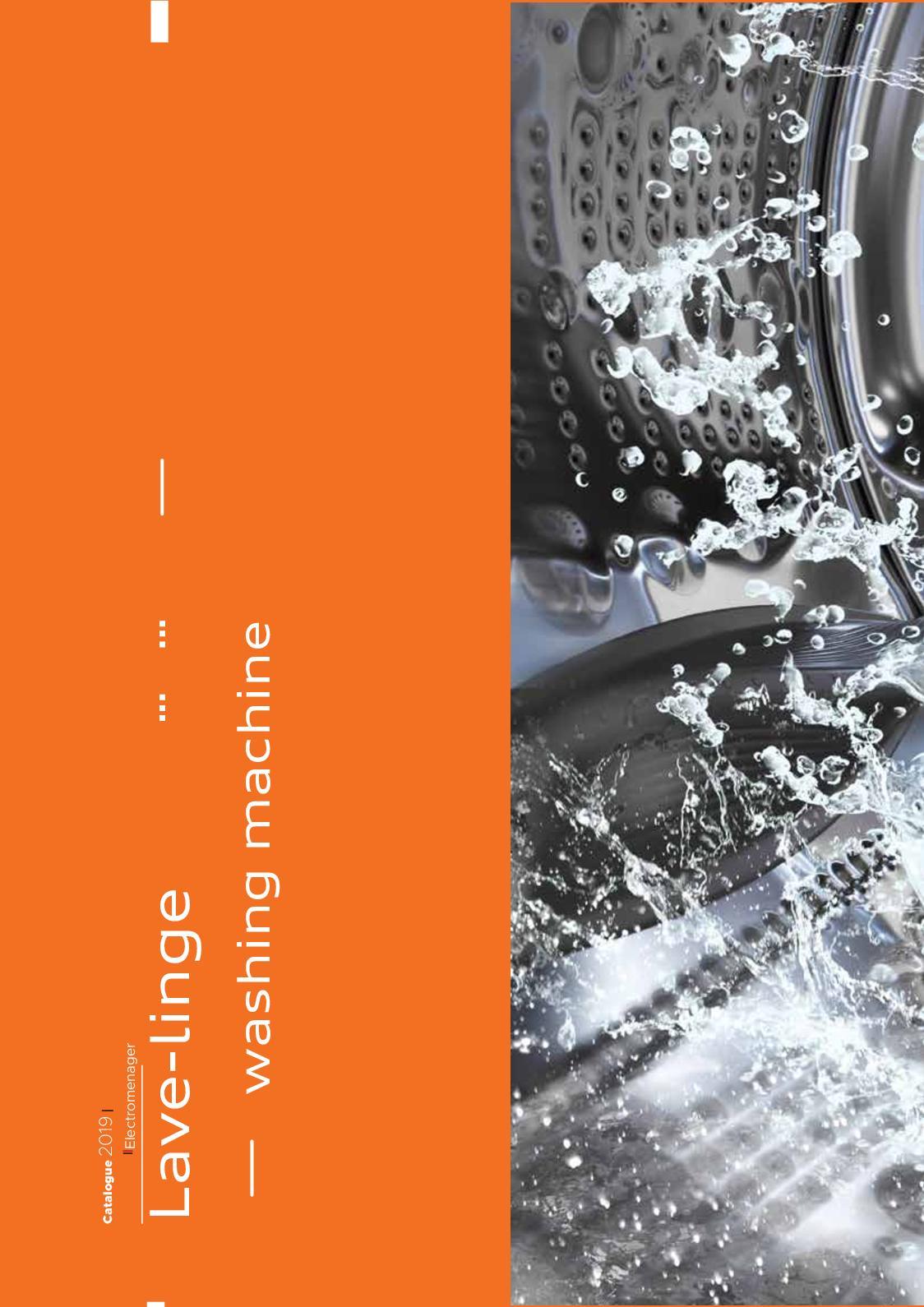Lave Linge Couleur Gris calaméo - iris : catalogue gamme lave linge