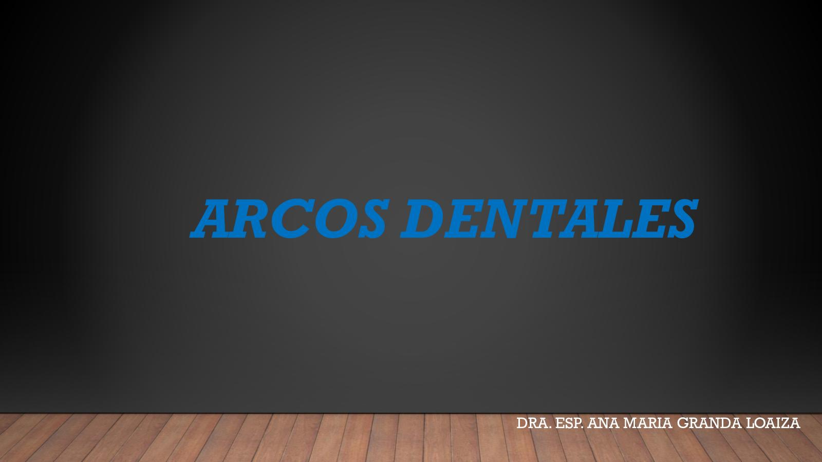 Arcos Dentales
