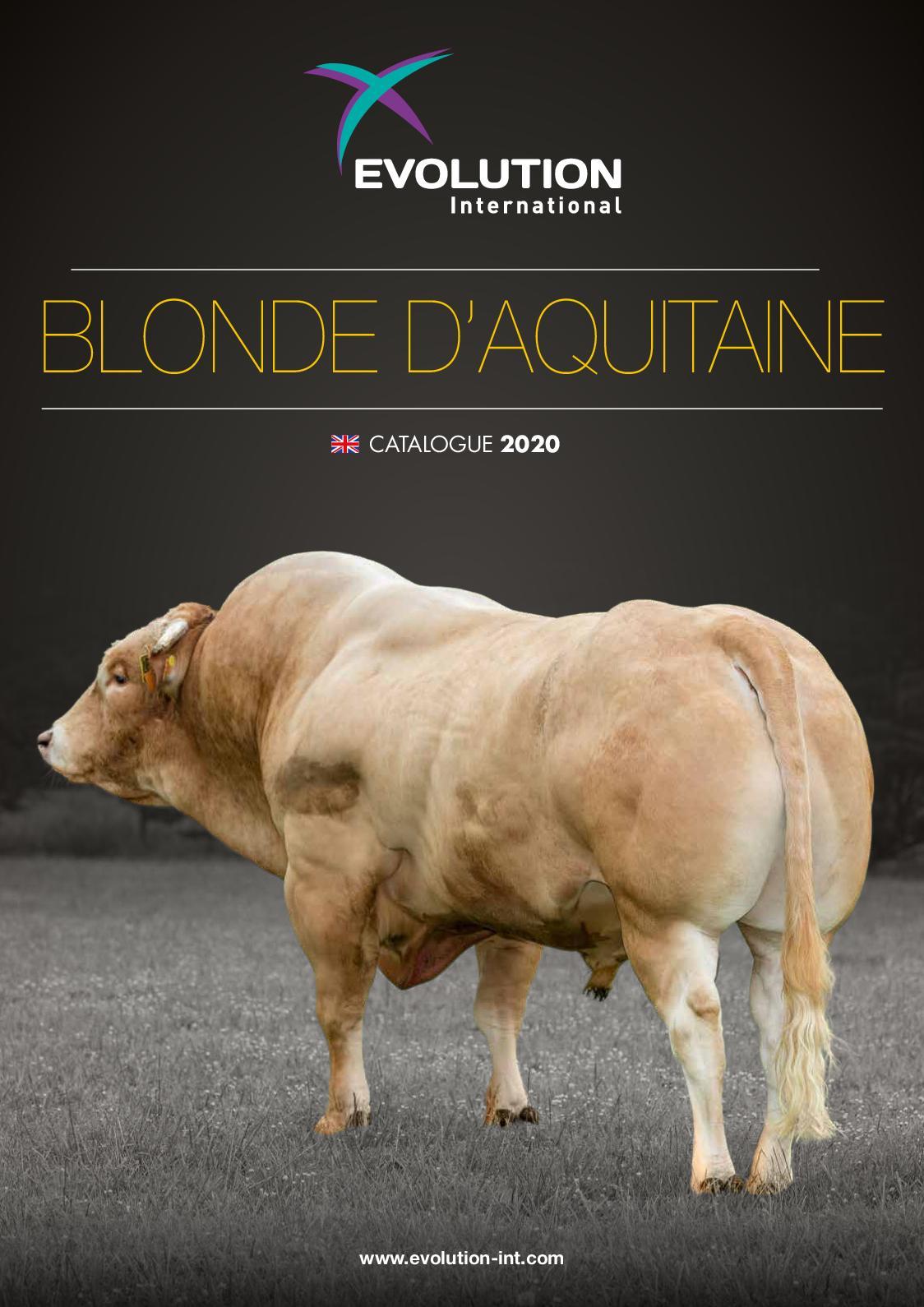 BLONDE D'AQUITAINE 2020 - EN