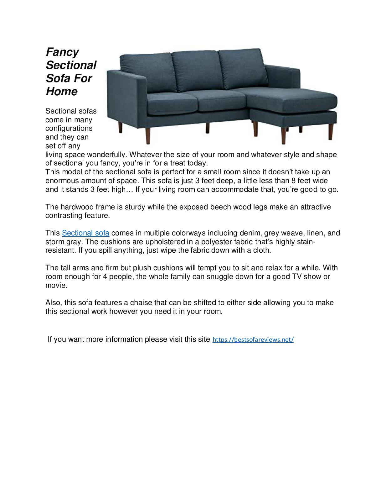 Calaméo - Best Sectional Sofa – For Home