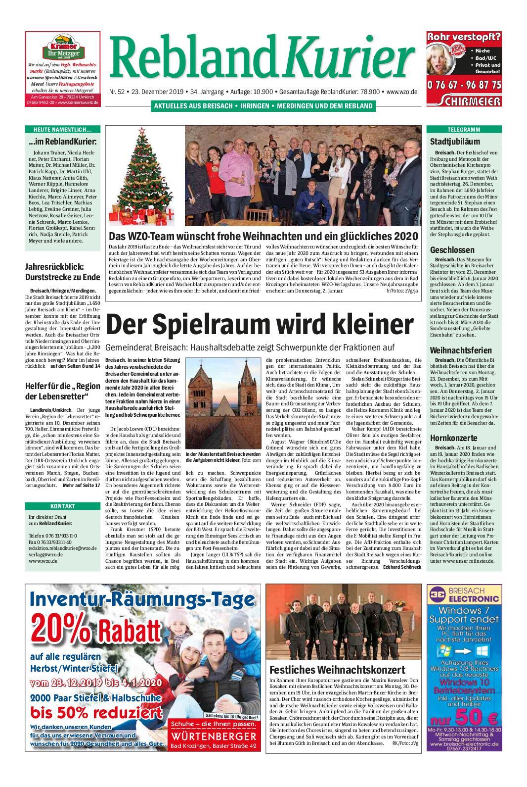 Whore Vogtsburg im Kaiserstuhl