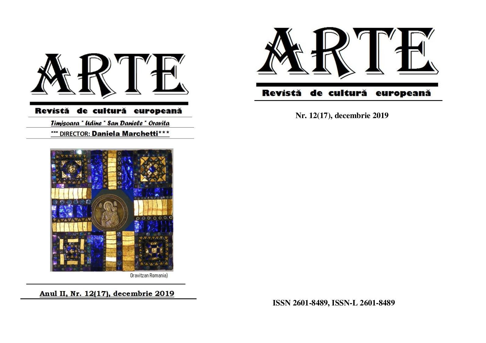 Revista Arte Nr 12 Decembrie 2019