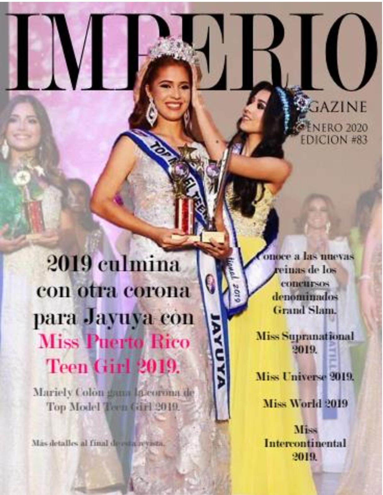 Imperio Magazine Enero 2020