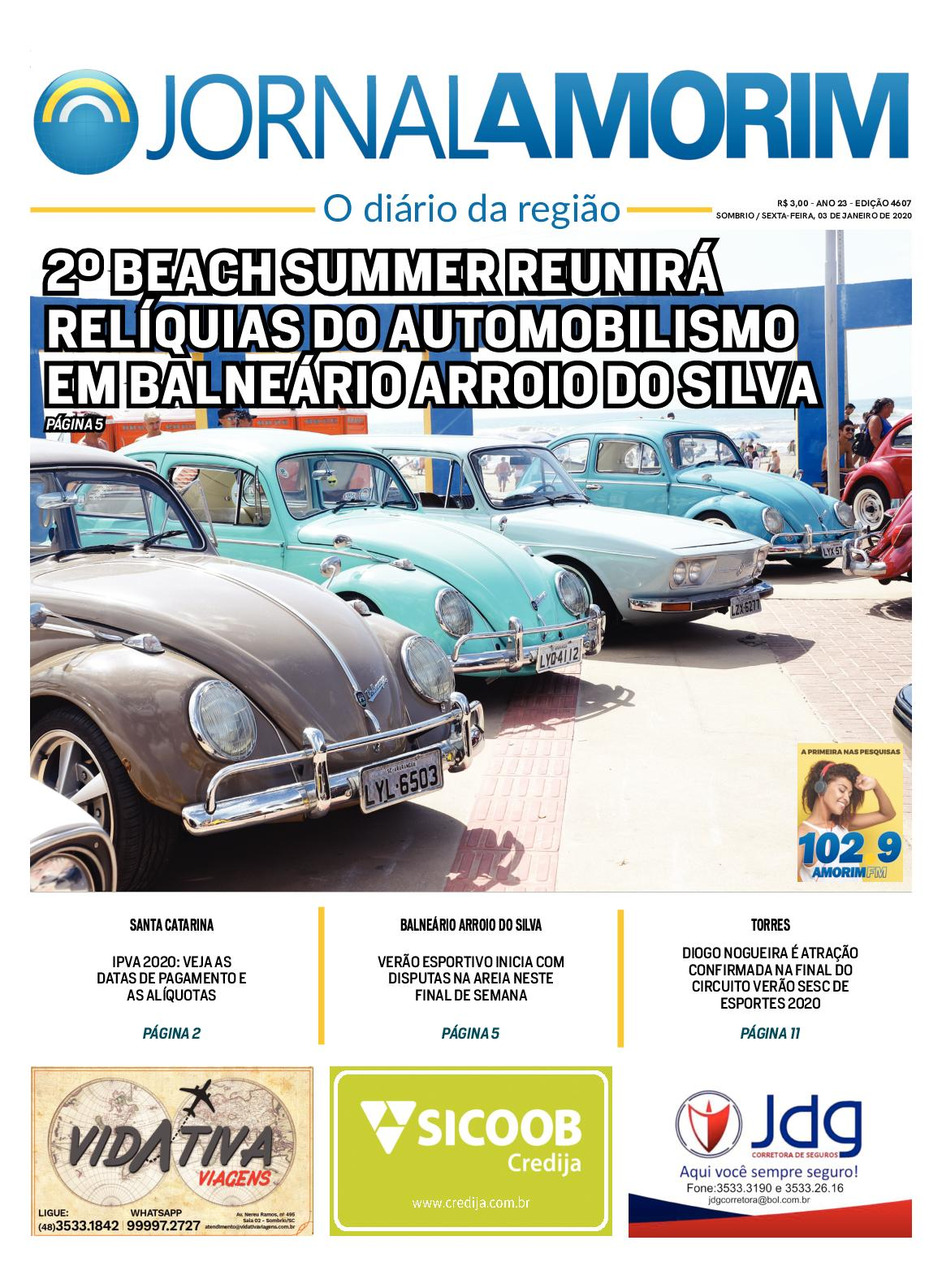 Jornal Amorim 4607 Sexta 03 01 2020