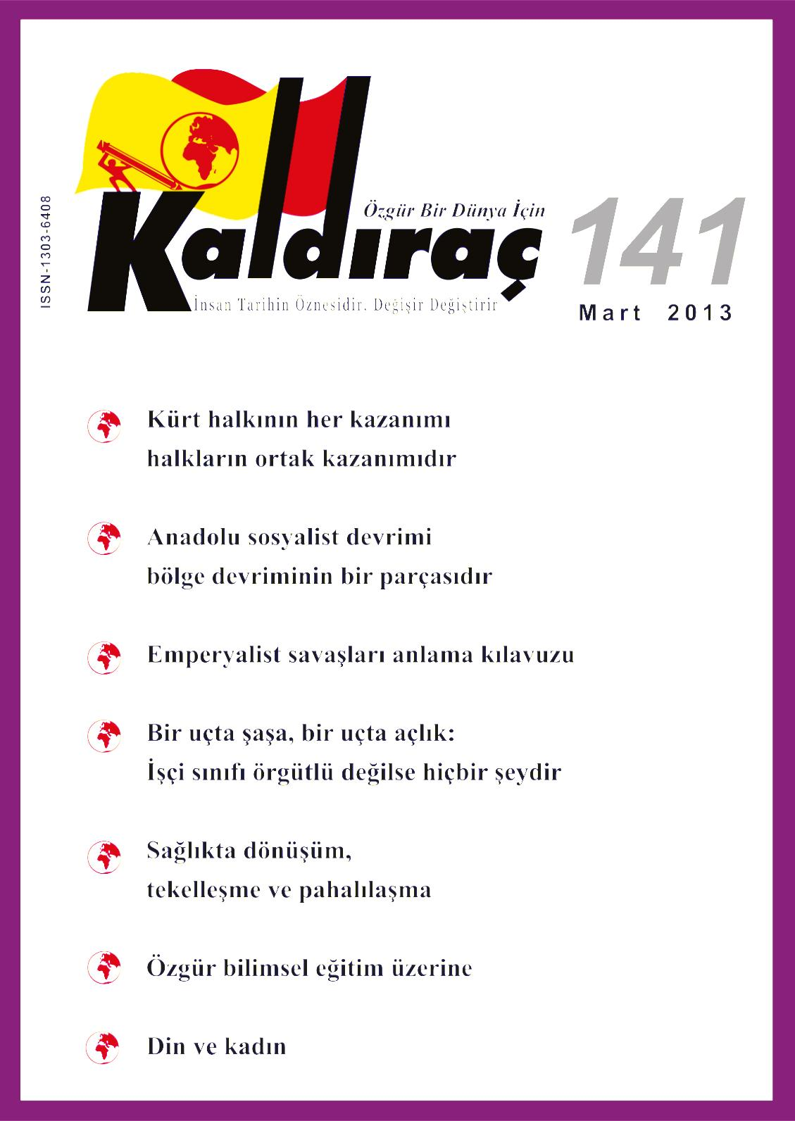 Calameo Kaldirac 141 Sayi Mart 2013