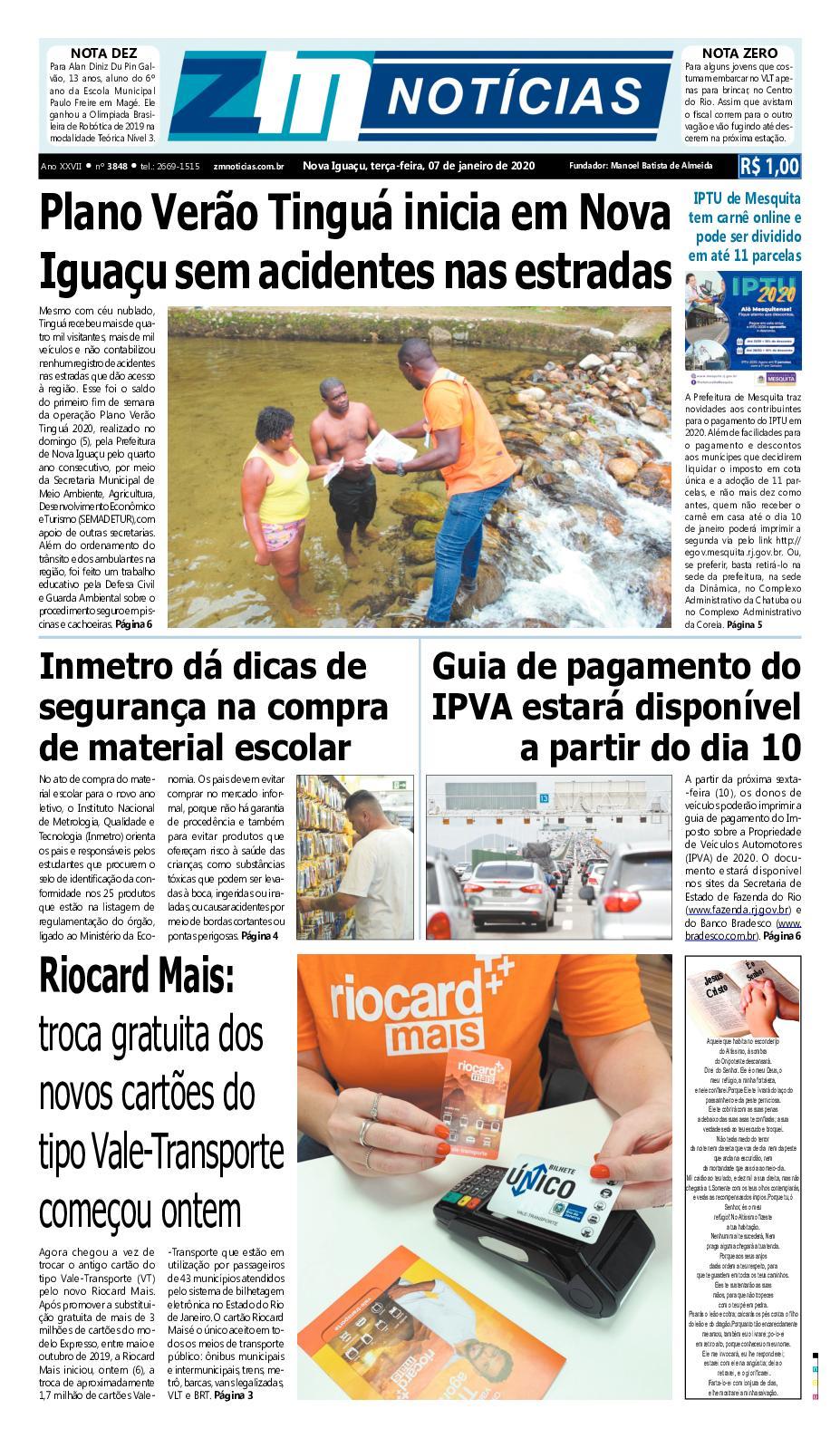 Zm Noticias 07012020