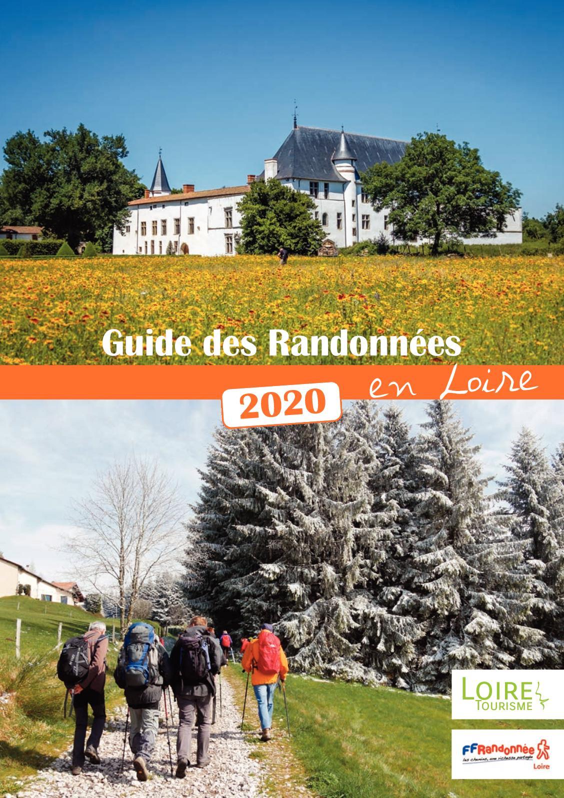 Calendrier Randonnée Pédestre Saone Et Loire 2021 Calaméo   FFRandonnee Loire Calendrier 2020