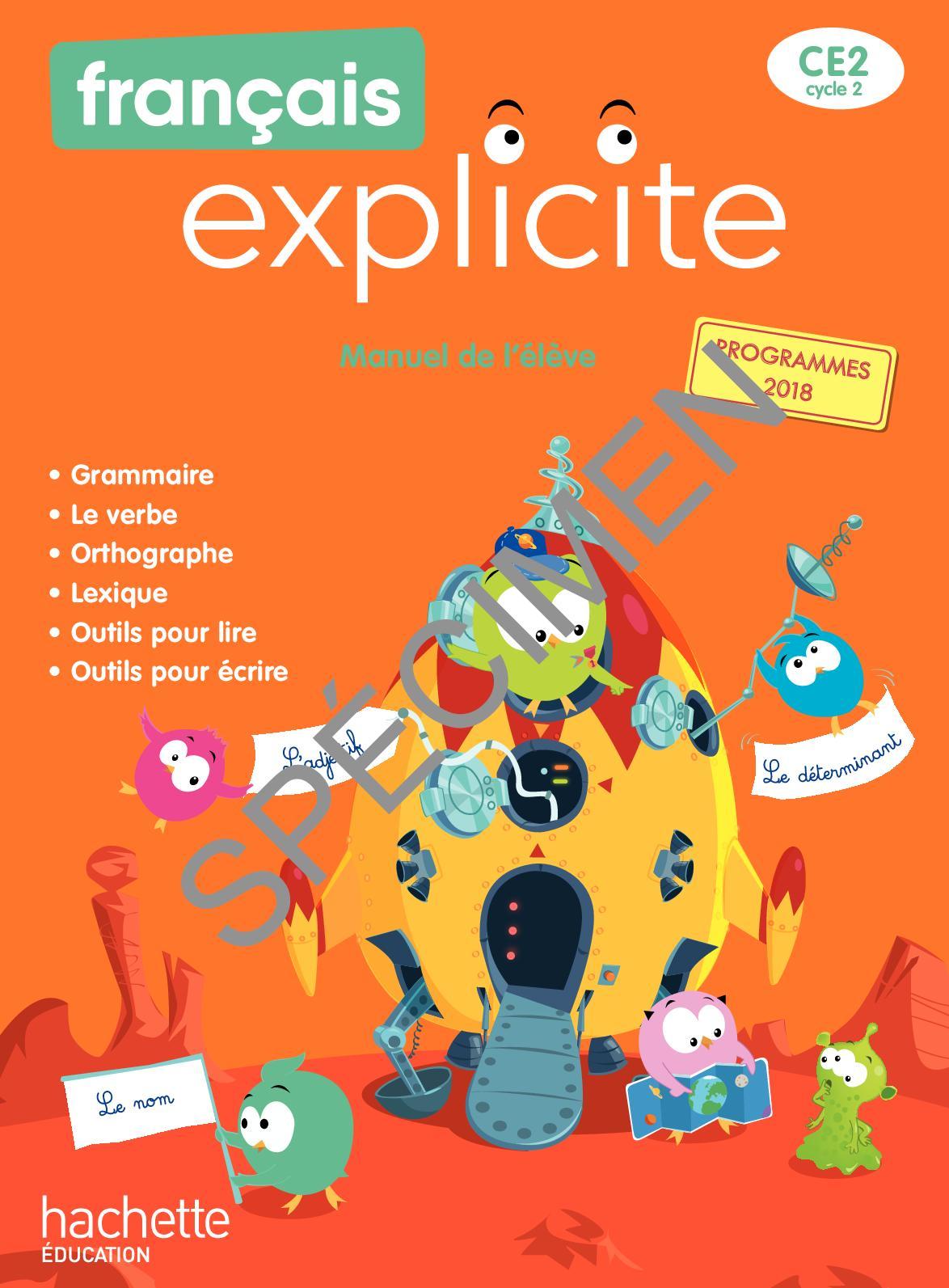 Incroyable  Mot-Clé Calaméo   Français Explicite CE32 Edition 320320