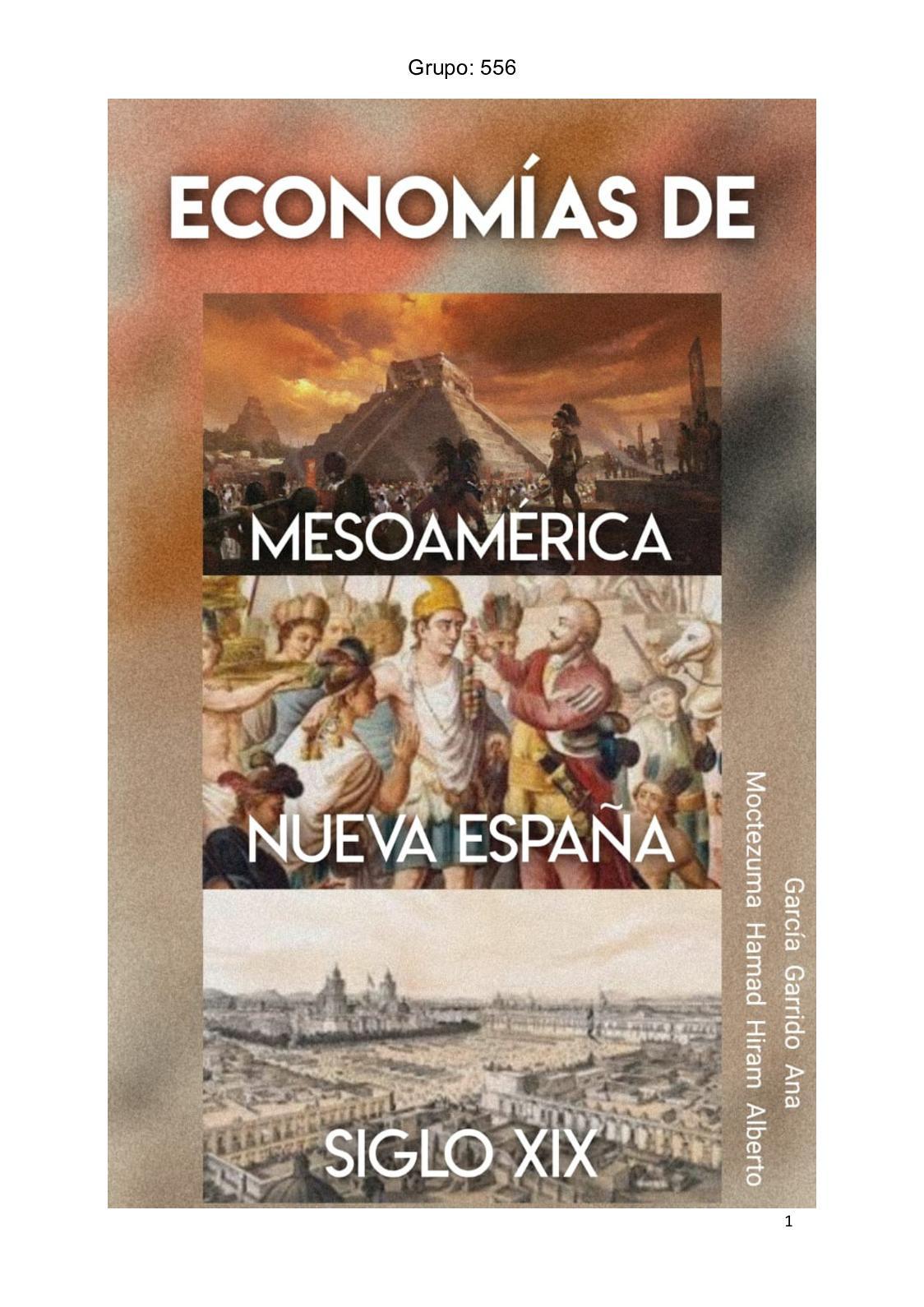 Calaméo Economía De Mesoamérica Nueva España Y Siglo Xix