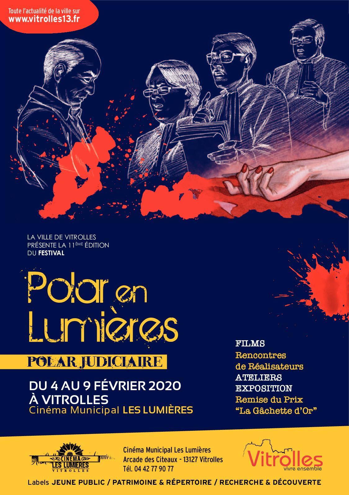 Art Plus Cadre Vitrolles calaméo - programme festival polar 2020