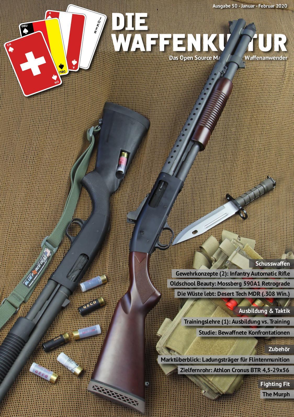 Calameo Die Waffenkultur Ausgabe 50 Januar Februar 2020