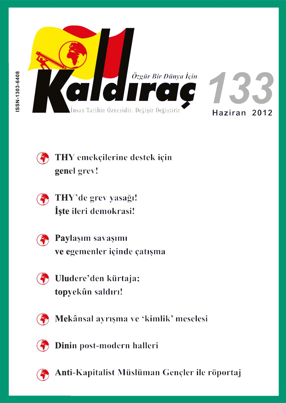 Calameo Kaldirac 133 Sayi Haziran 2012