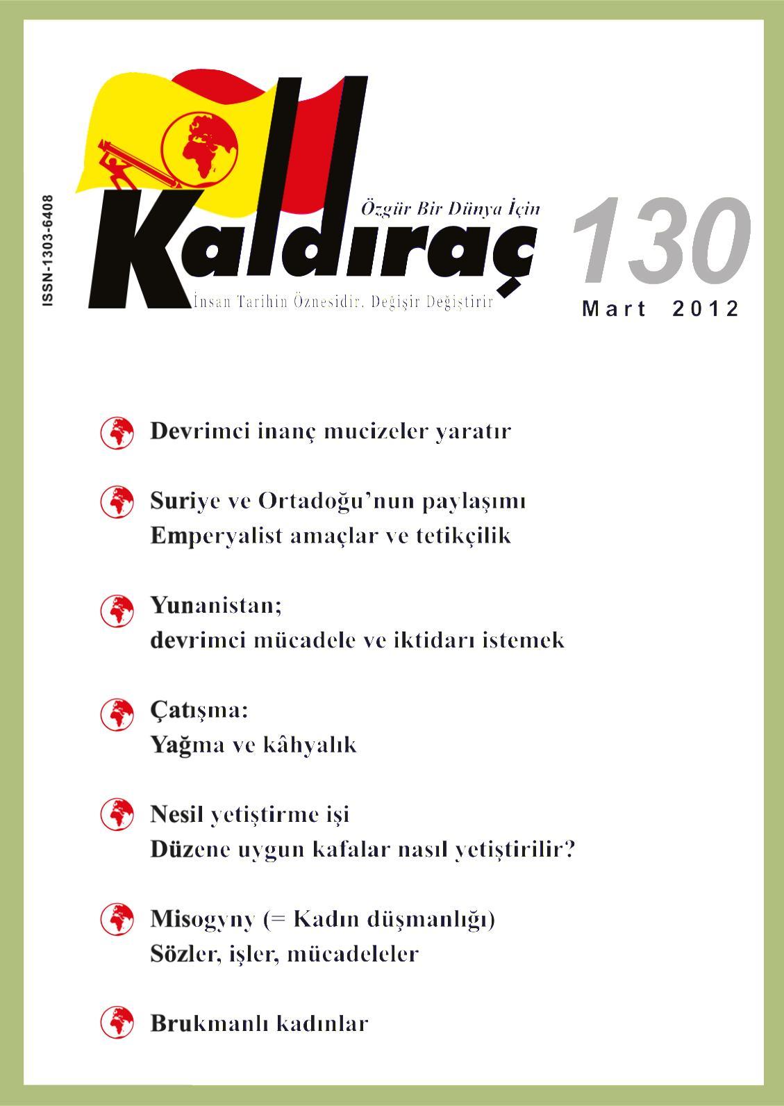 Calameo Kaldirac 130 Sayi Mart 2012