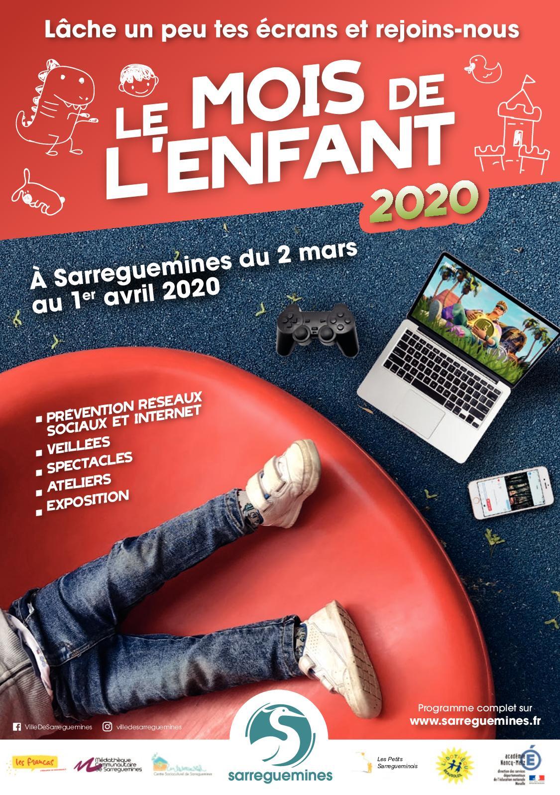 Le Mois De L'enfant 2020 - Dépliant