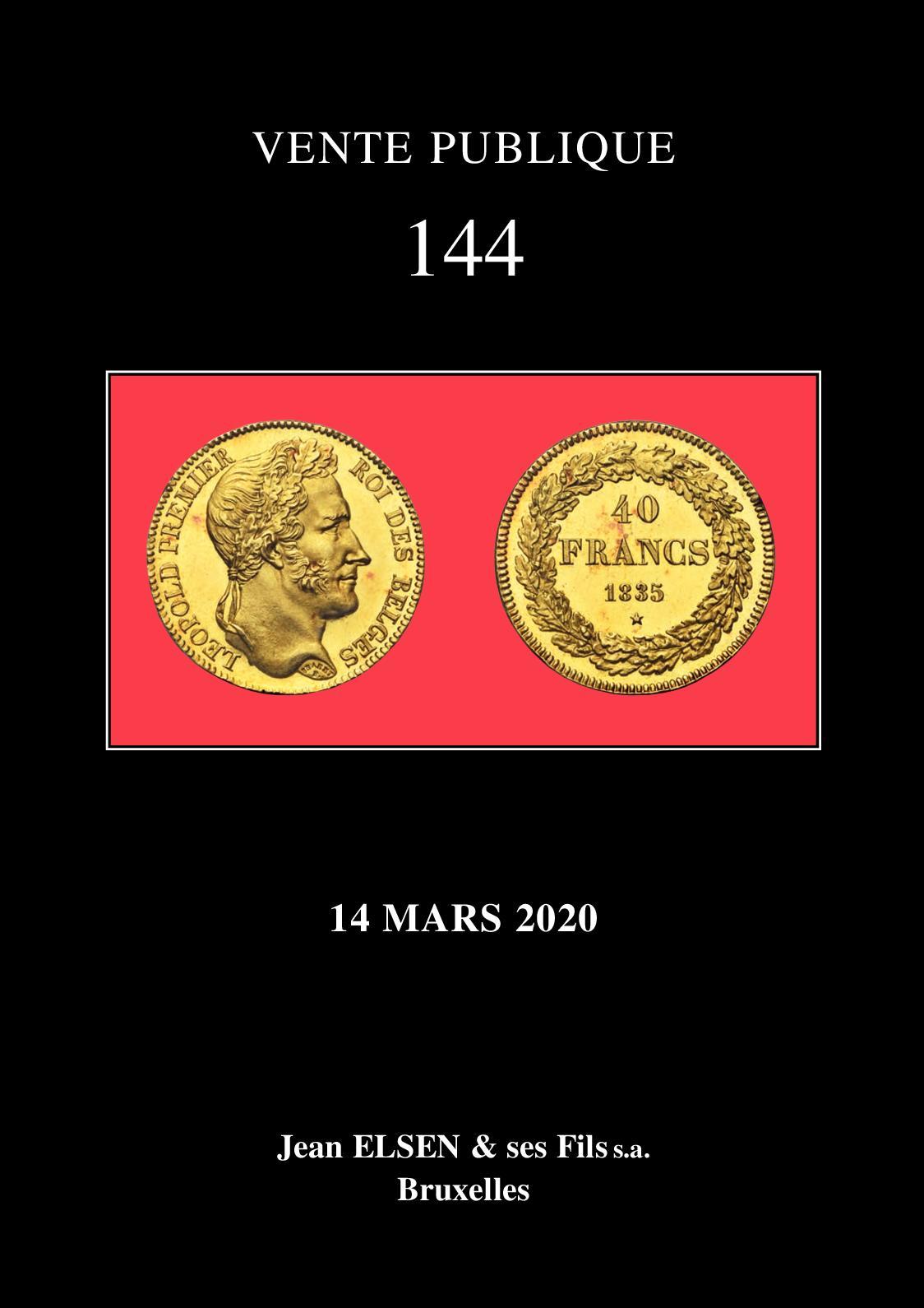 Calameo Jean Elsen Et Ses Fils S A Vente Publique 144