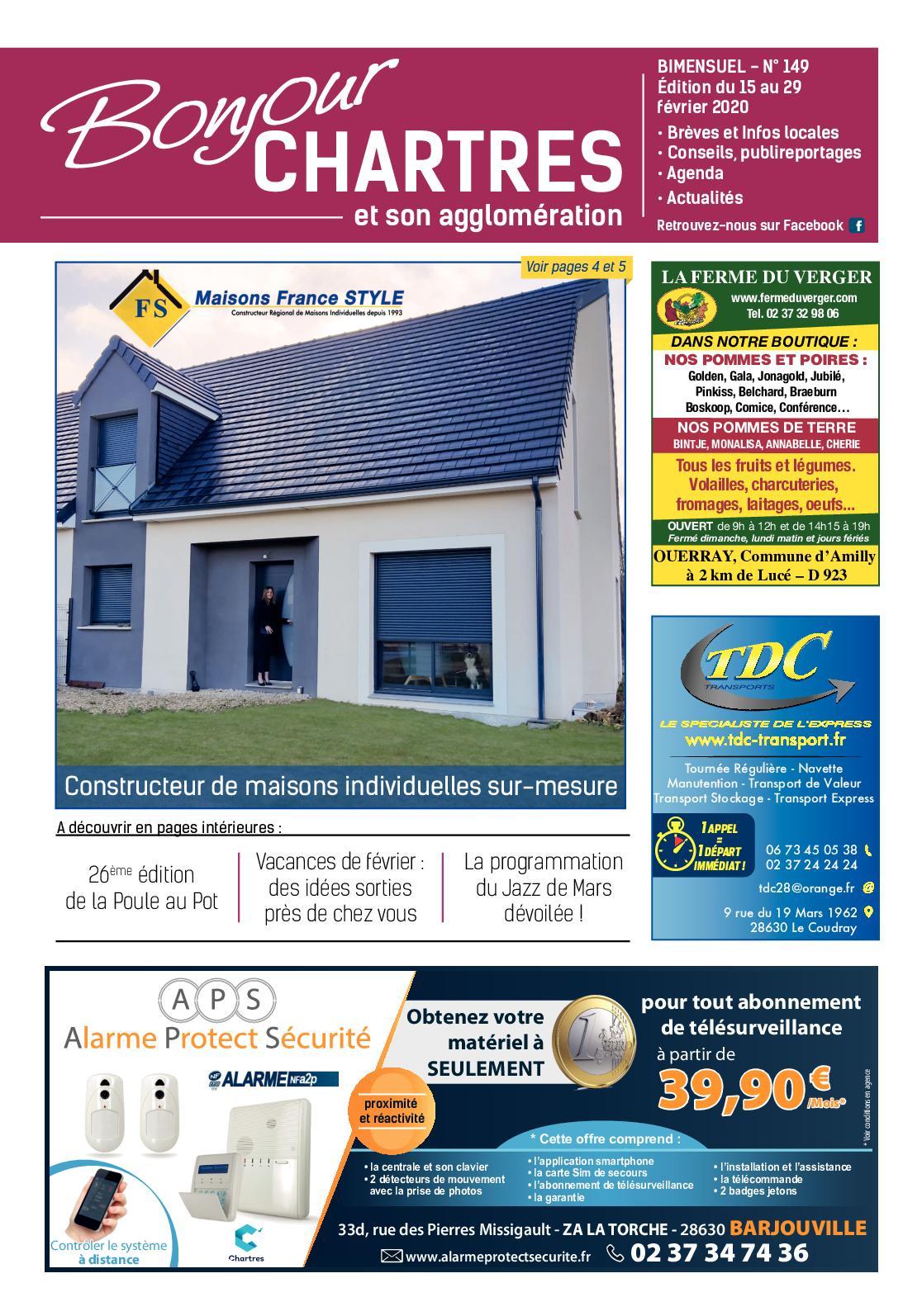 Constructeur De Maison Chartres calaméo - bonjour chartres n°149