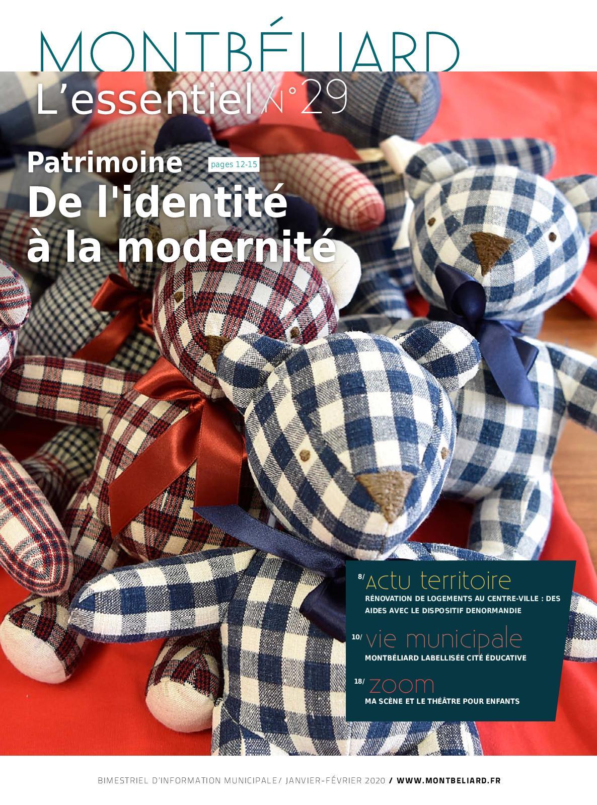 Cours De Dessin Montbéliard calaméo - montbéliard l'essentiel n° 29 - janvier février 2020