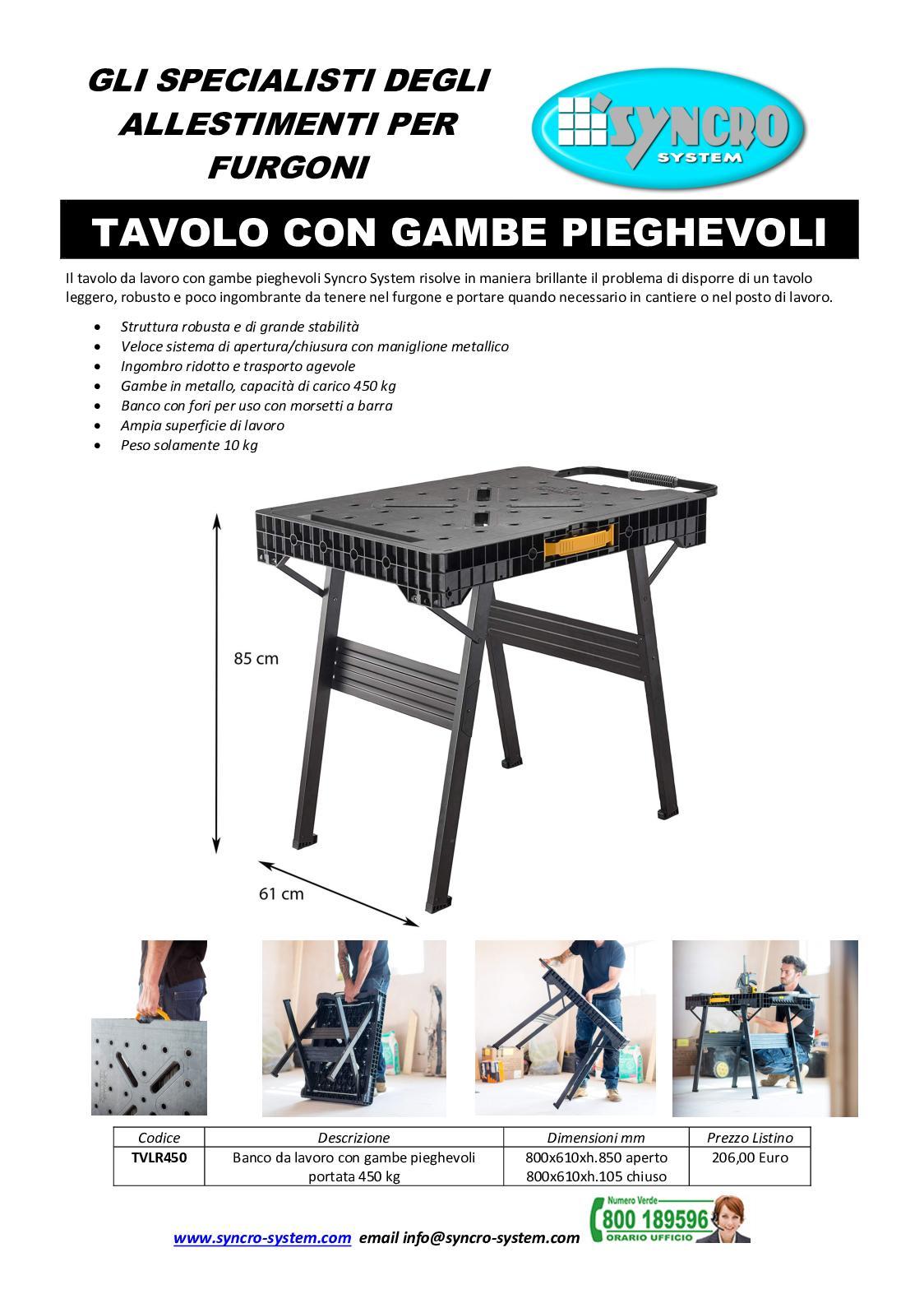 Gambe Metalliche Pieghevoli Per Tavoli.H236kyfvkmrpem
