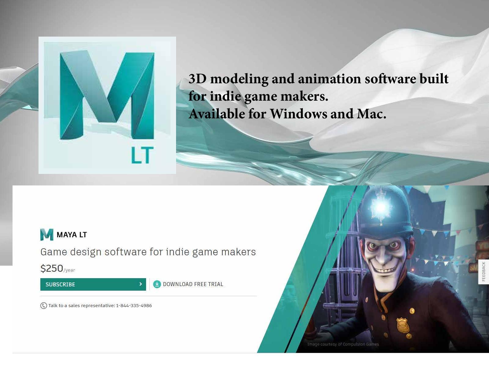Calameo Maya Lt Game Design Amp Development Software Autodesk