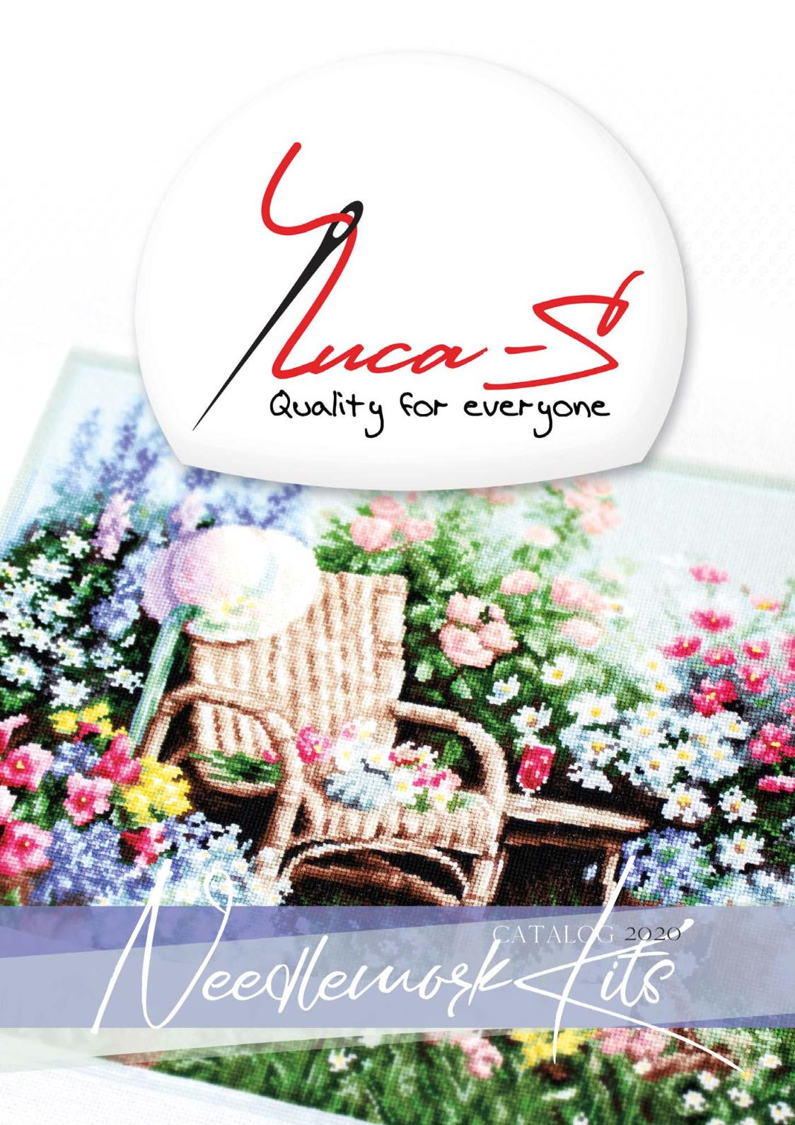 B212 Luca-S Counted Cross Stitch Kit Grapes
