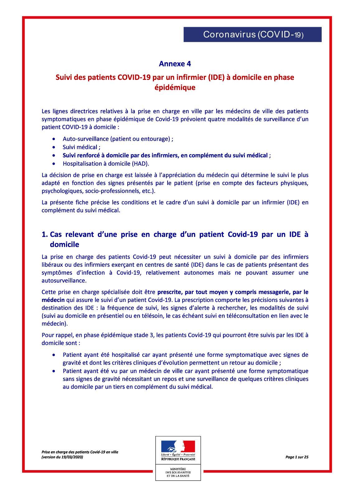 Calaméo - Télésuivi Covid 8 par les IDE à domicile - Assurance