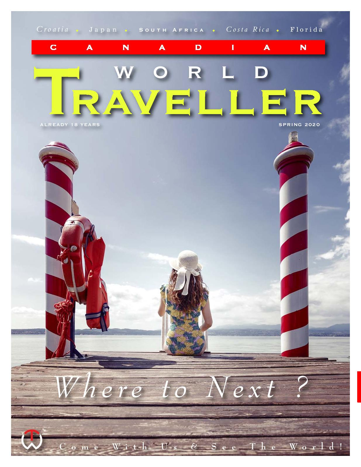 Calaméo Canadian World Traveller Spring 2020 Issue