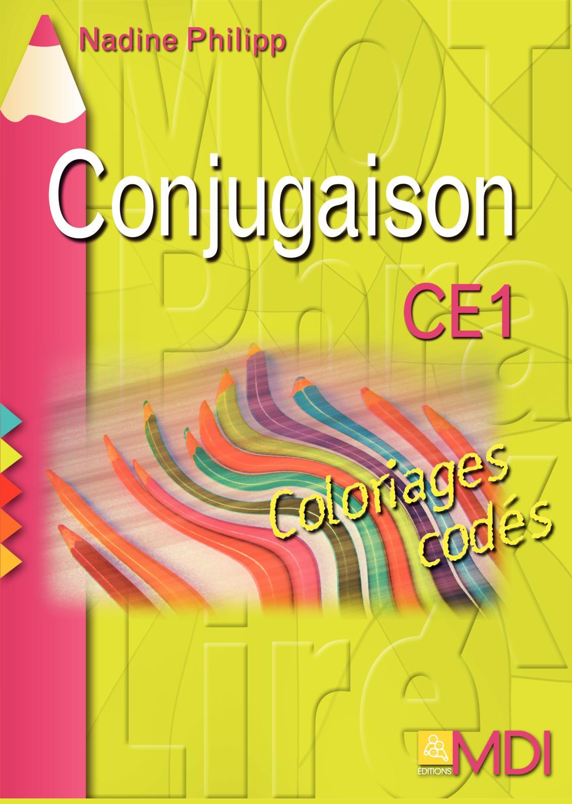 Calameo Coloriages Codes Conjugaison Ce1