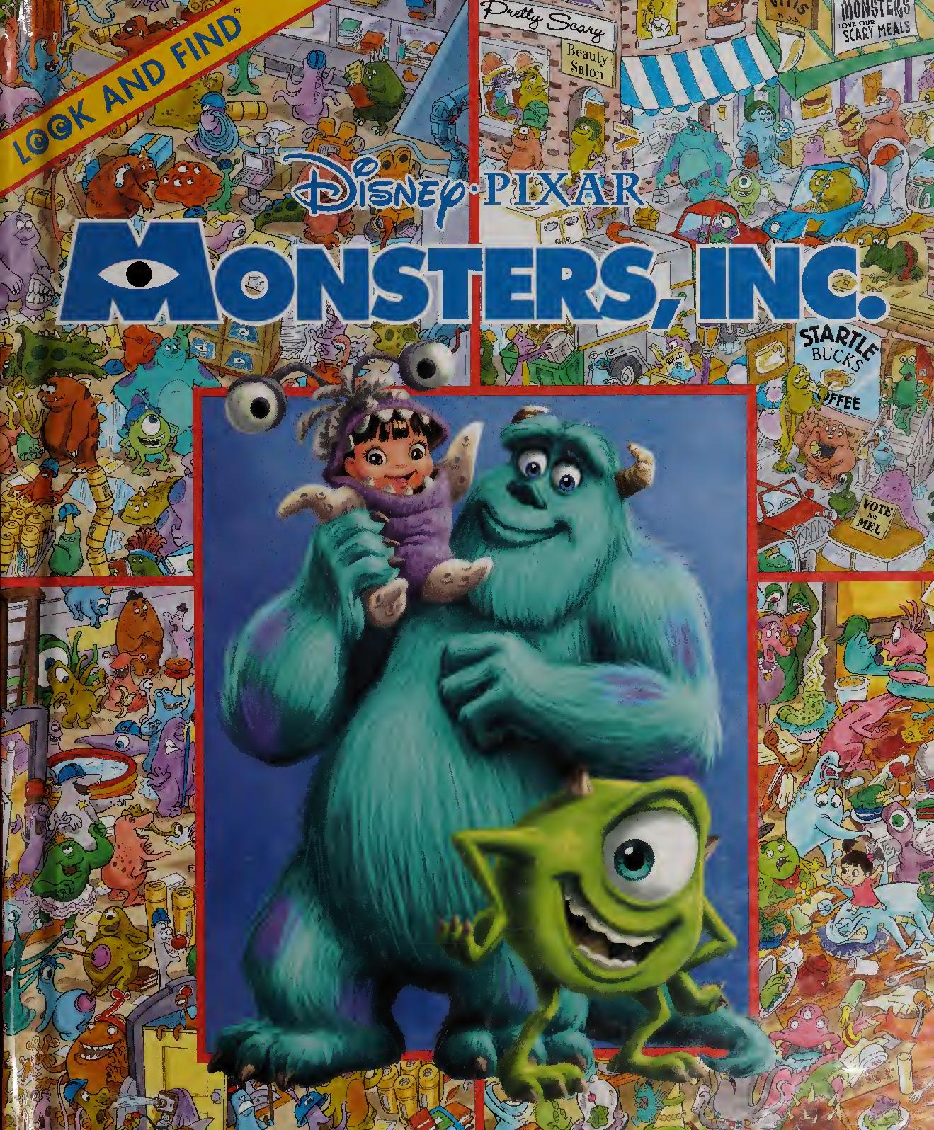 Calameo Look And Find Disney Pixar Monsters Inc