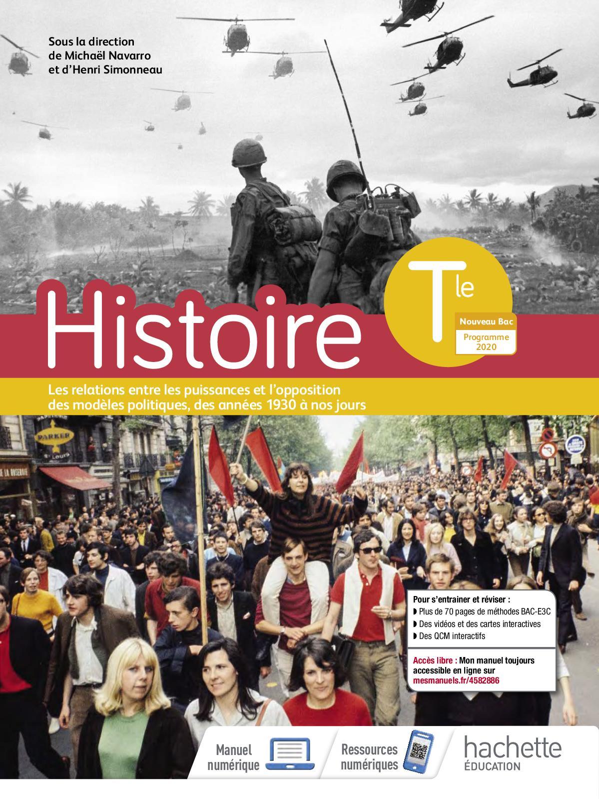 Histoire Tle