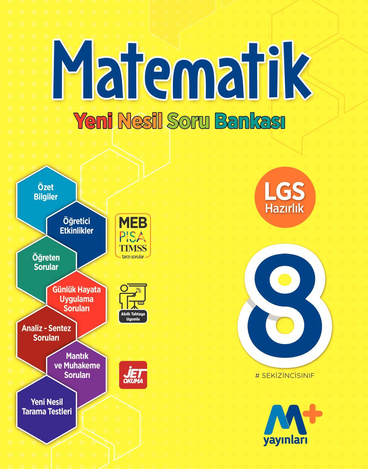 8. Sınıf Matematik Yeni Nesil Soru Bankası (Öğretmen Örneği)