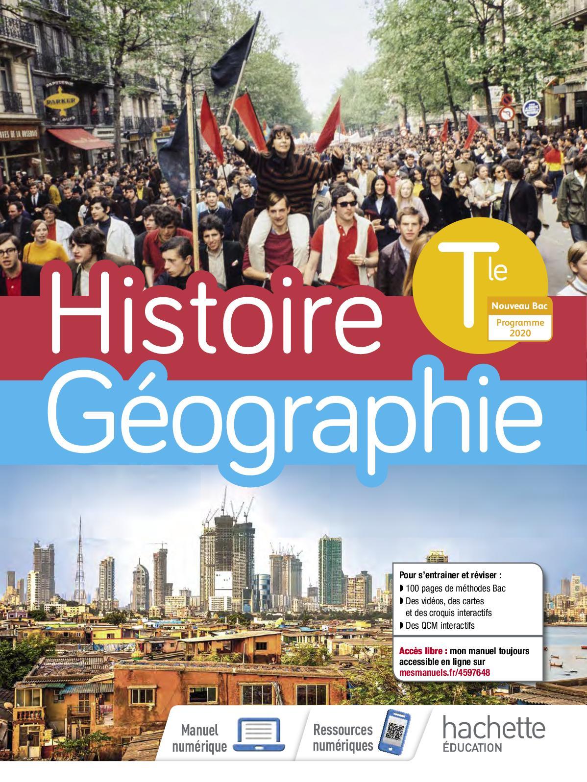 Histoire Géographie Tle