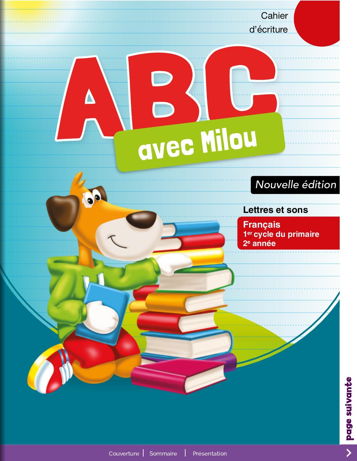 Français Primaire - CE1 Cahier d'écriture