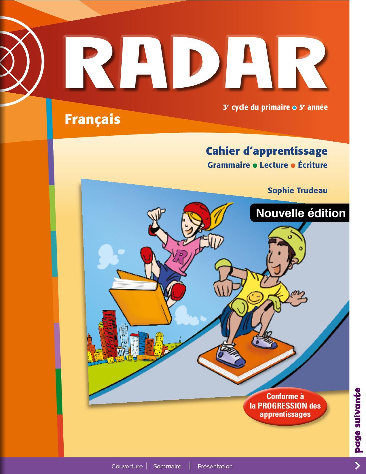 Français Primaire - 5éme Cahier d'apprentissage