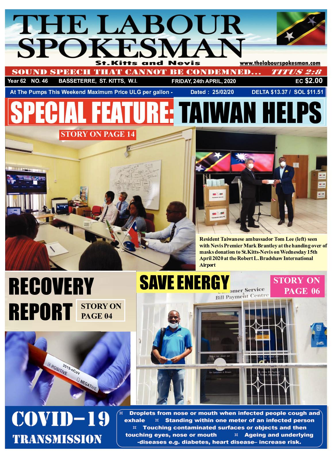 Calaméo - The Labour Spokesman: April 24th 2020