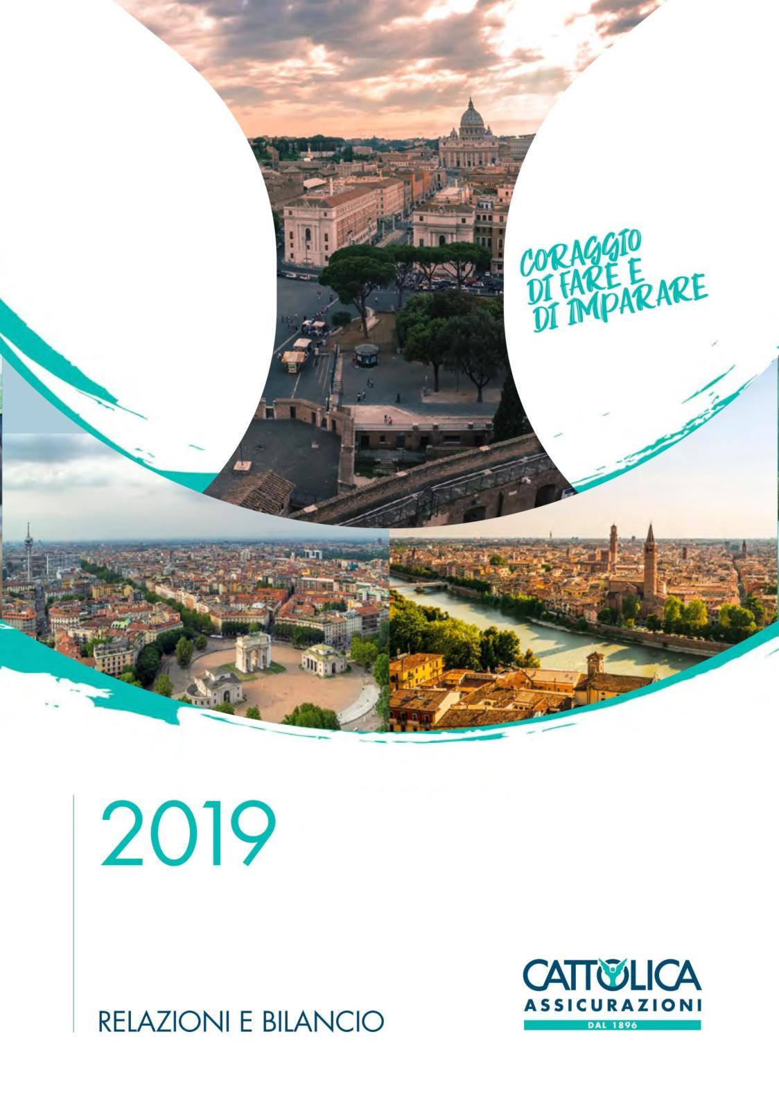 calaméo - cattolica bilancio 2019  calaméo