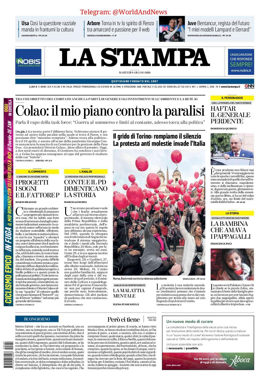 Calameo La Stampa June 09 2020
