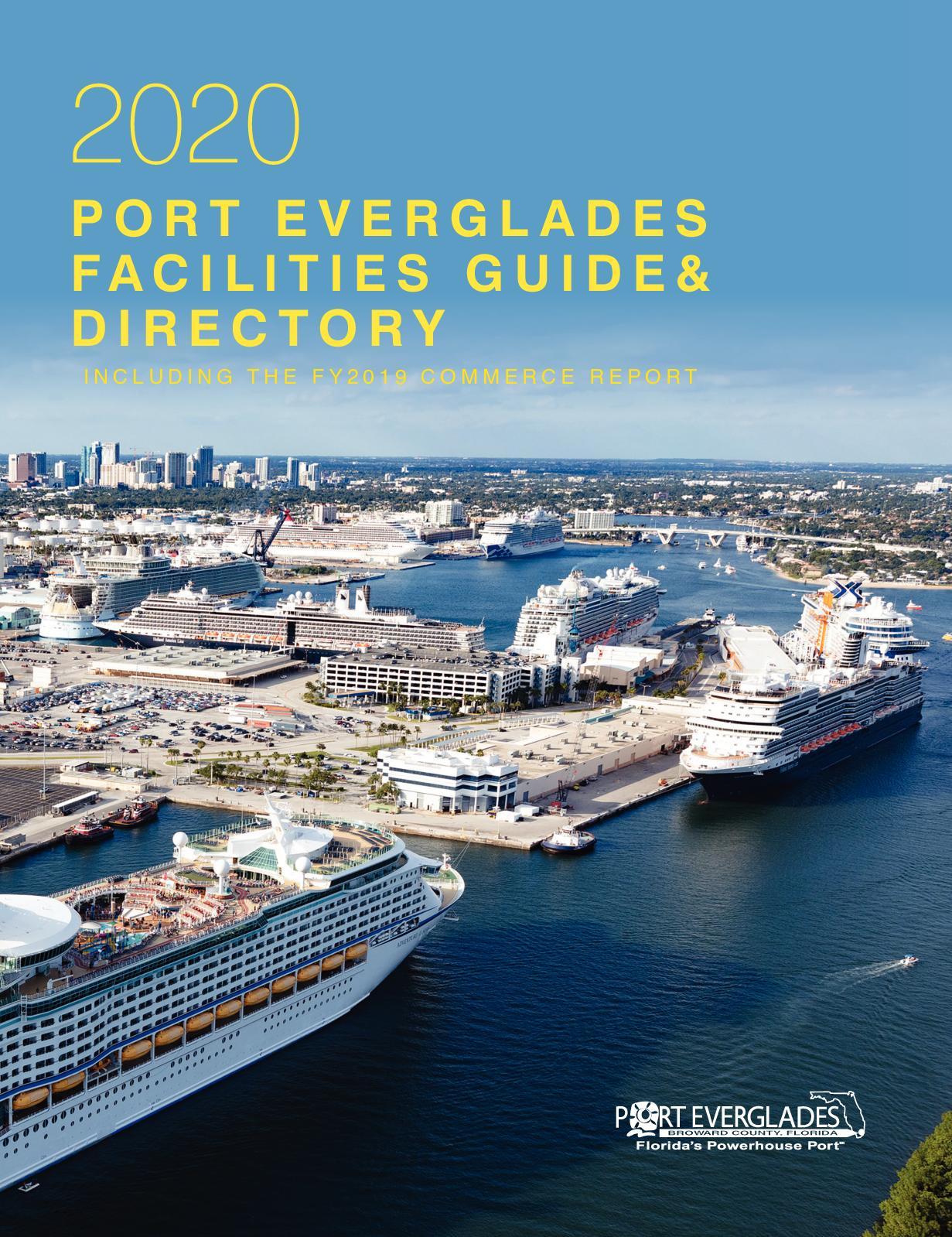 12+ Calaméo   8 Port Everglades Facilities Guide & Directory Kollektion