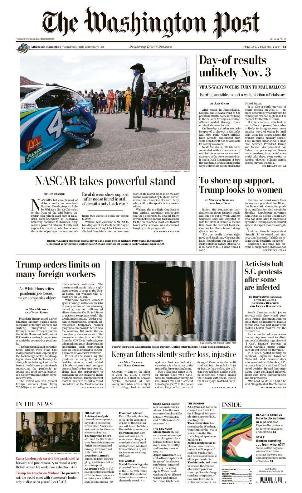 Calaméo The Washington Post 23jun20