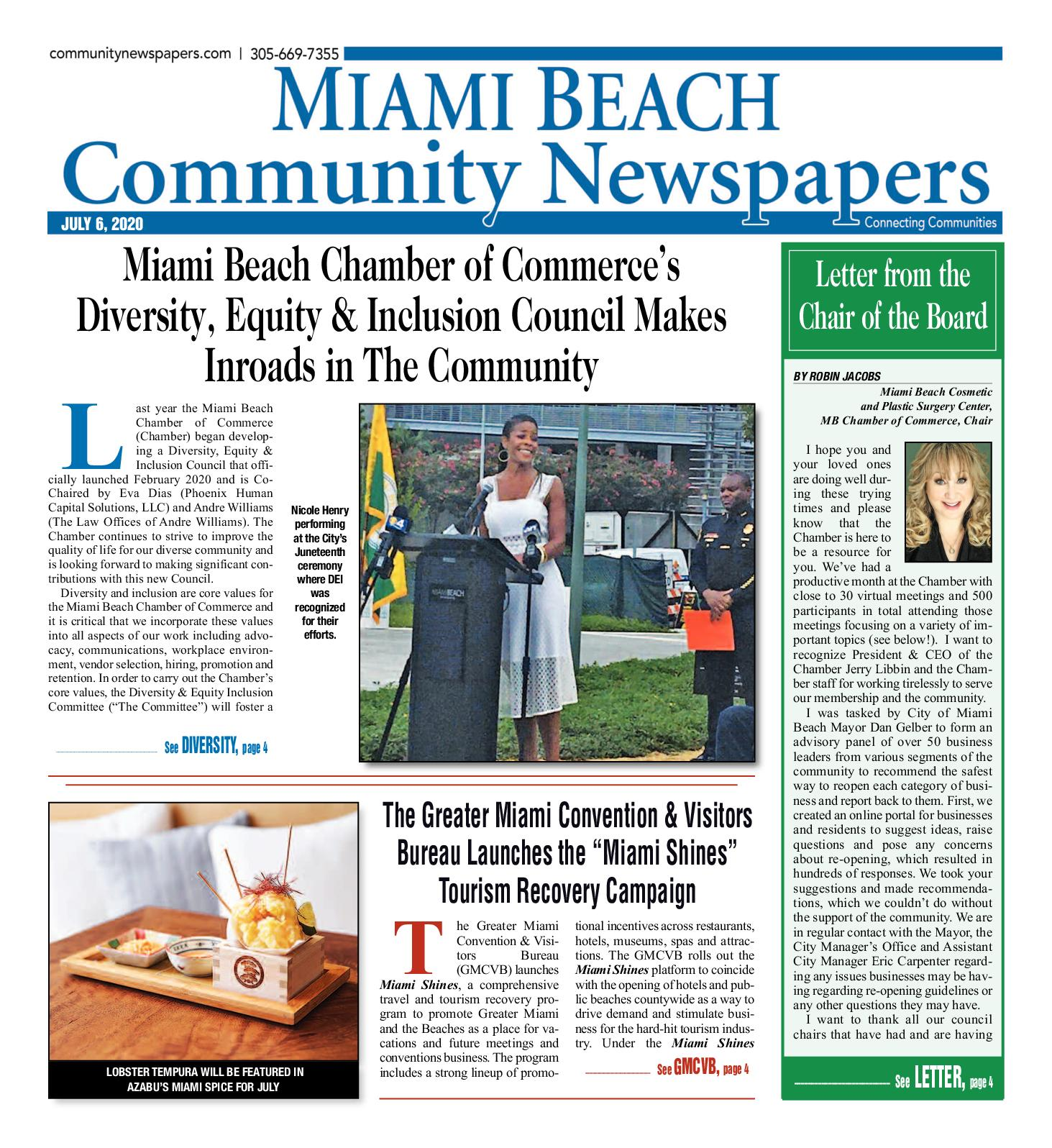 Calaméo - Miami Beach News 7.6.2020