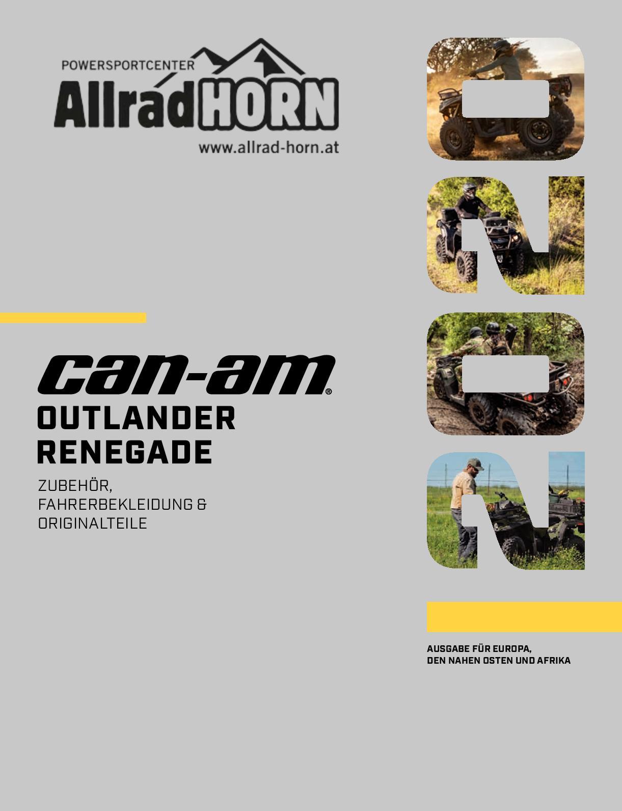 Can Am Renegade 1000 Duro Power Grip Radial Reifen hinten 25x10-12 2 Stück
