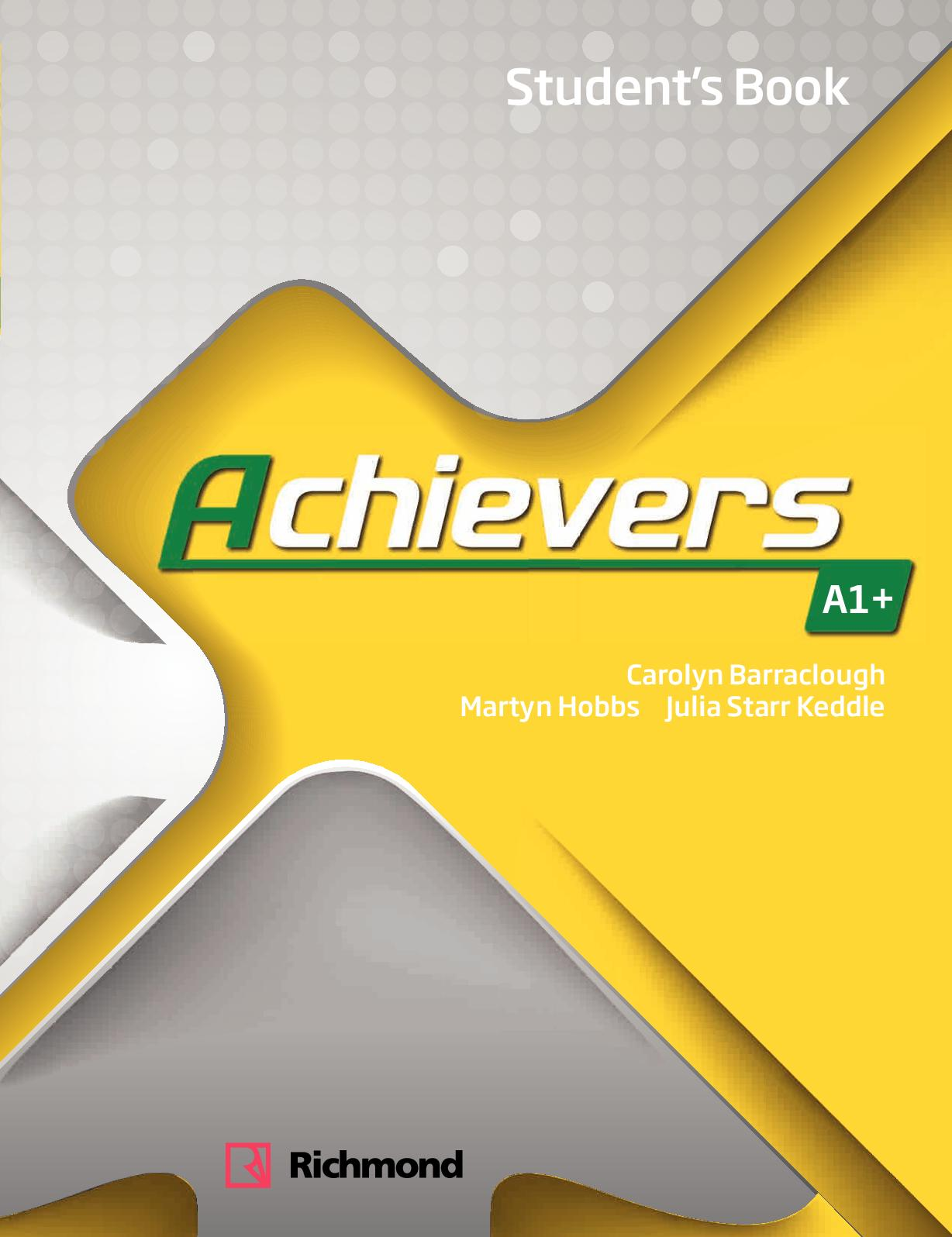 Calameo Achievers A1 Student S Book [ 1596 x 1228 Pixel ]