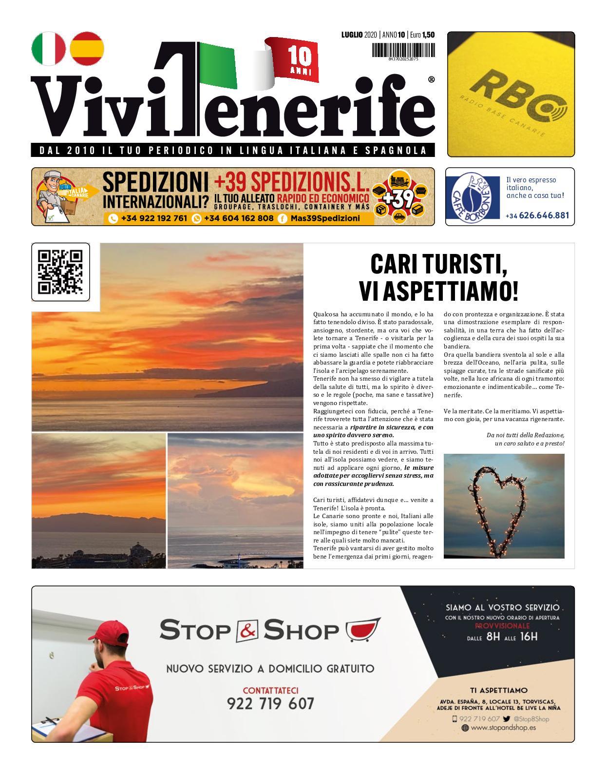 Calameo Periodico Vivi Tenerife Luglio 2020 X Anno