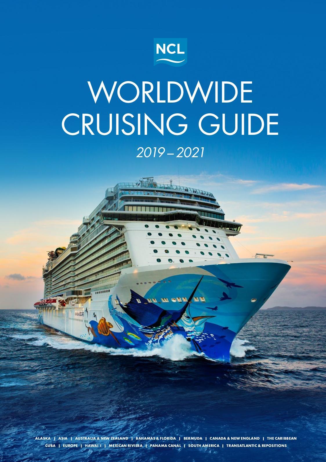 Calameo Norwegian Cruise Line 2019 2021