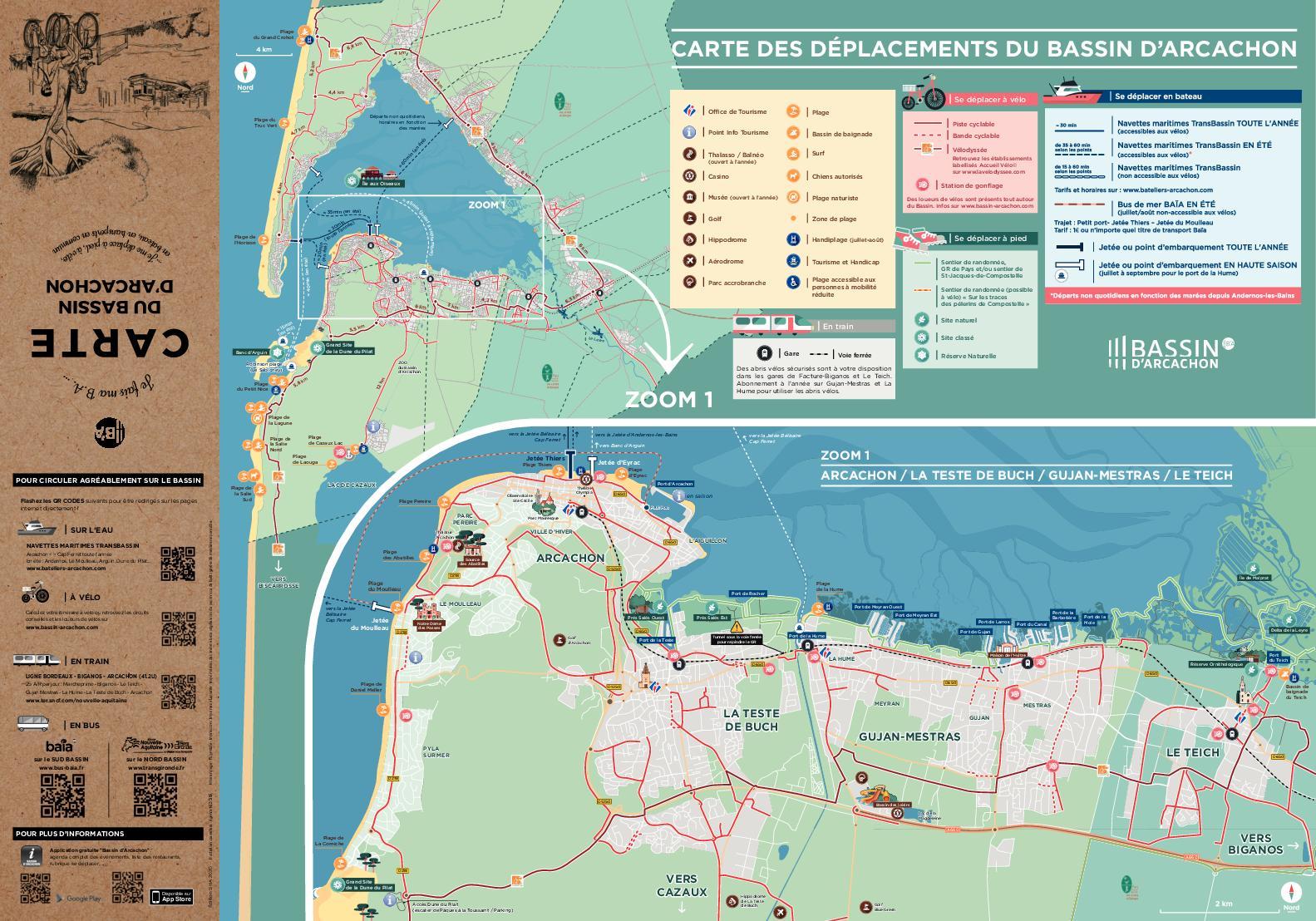 Calameo Carte Des Pistes Cyclables 2020