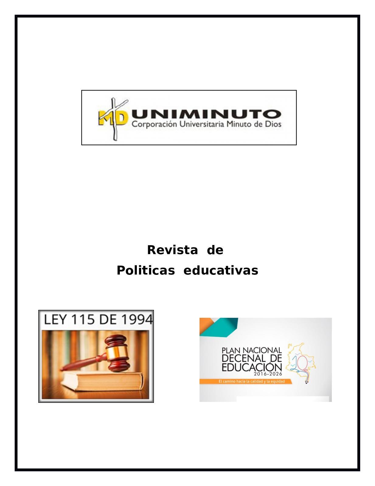 Revista Calameo De Politicas Infografia