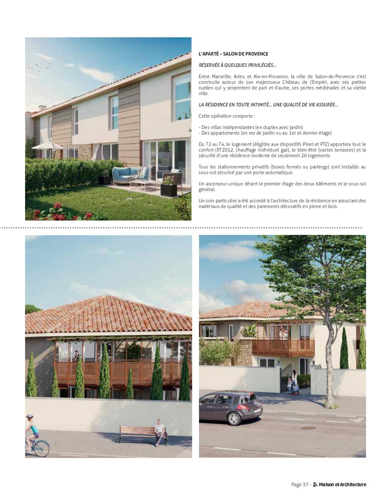 Maison Et Architecture Sud 2019 Calameo Downloader