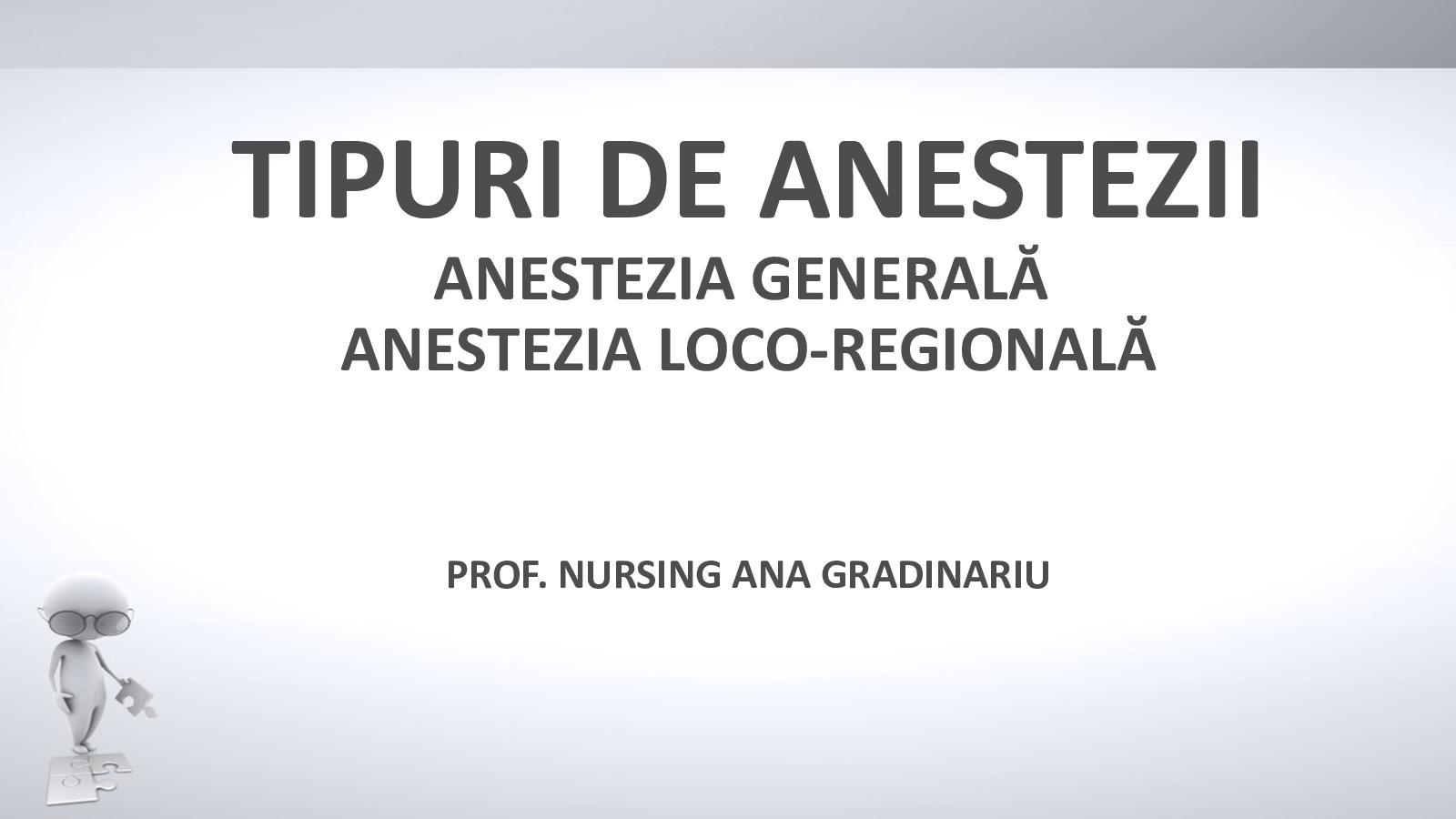 tehnică pentru efectuarea anesteziei în oftalmologie)